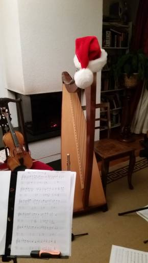 The Celtic Fragment Christmas Harp